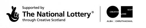 National Lottery and Creative Scotland logos