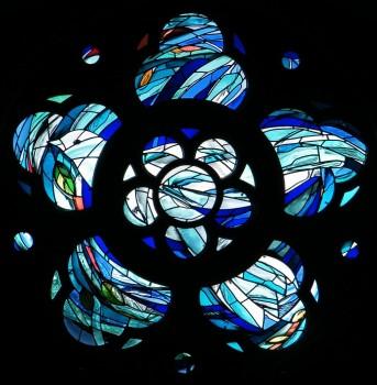 Rose window, Broxburn Parish Church