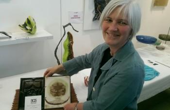 Alison Shepherd with Book